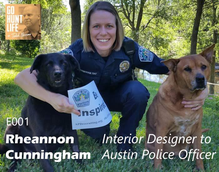 E001 Rheannon Cunningham – Interior Designer to Austin Police Officer