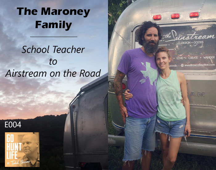 E004 The Maroney Family – School Teacher to Airstream On The Road