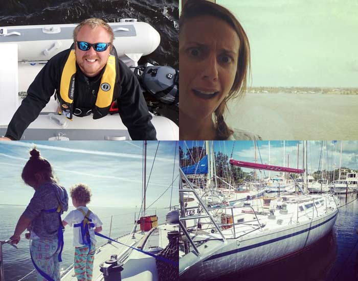 [Transcript] E025 – Family of 4 Sails Out to a New Life – By Way of the Sea