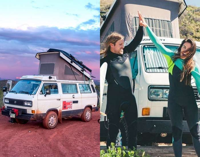 E028 Living the Modern Nomad VanLife with WheresMyOfficeNow – Emily and Corey