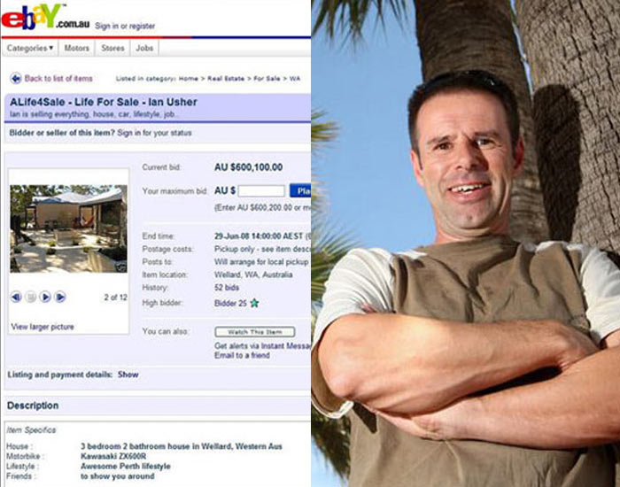 E041 Sells Entire Life on eBay and Buys a Caribbean Island – Ian Usher
