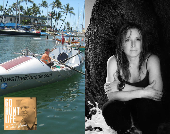 E040 Environmental Activist is First Woman to Row Solo Across 3 Oceans – Roz Savage