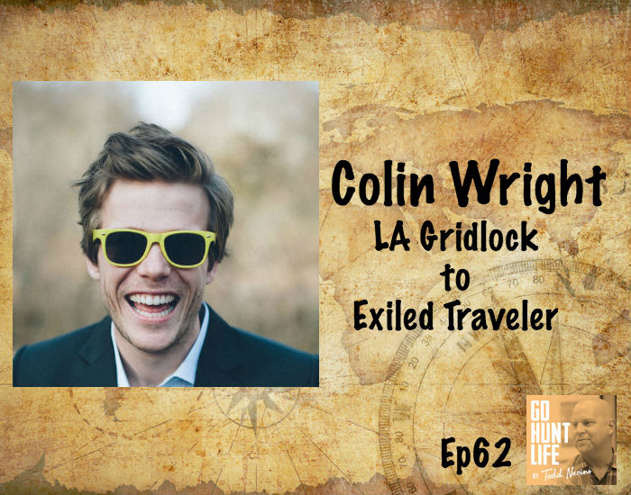 Ep62 Exiled Himself from California to Explore the World 4 Months at a Time – Colin Wright
