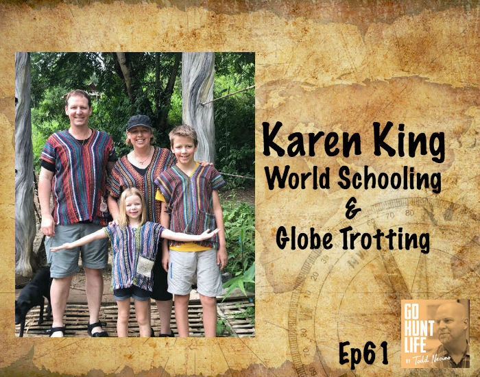 Ep61 World Schooling Family of 4 Hits 23 Countries in 19 Months – Karen King
