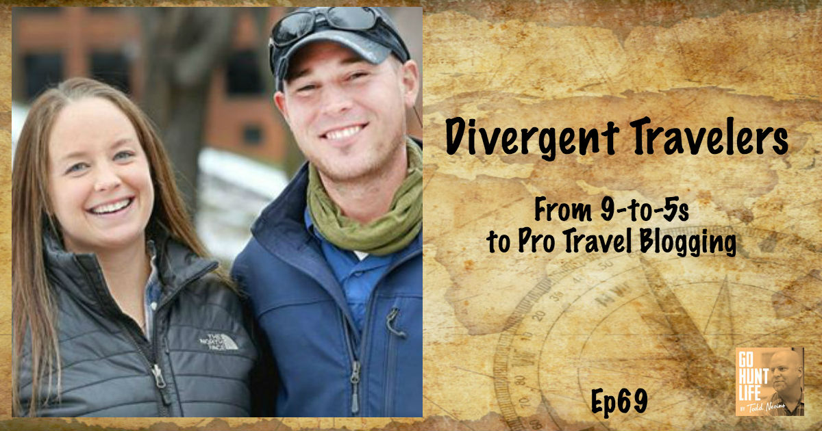 Ep69 Couple Ditches Their 9-to-5 Jobs to be Professional Travel Bloggers – Divergent Travelers 🌎 📷 🛫