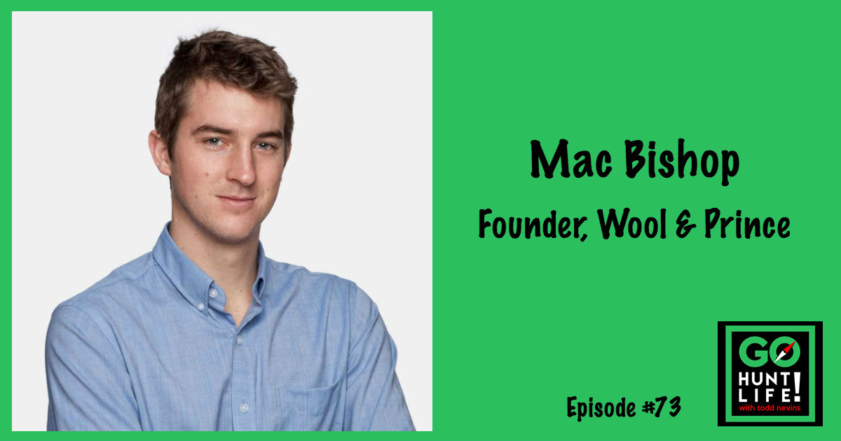Ep73 Viral Kickstarter Campaign Launches Wool Clothing Company for Minimalists – Mac Bishop 🚀 🐑 👕