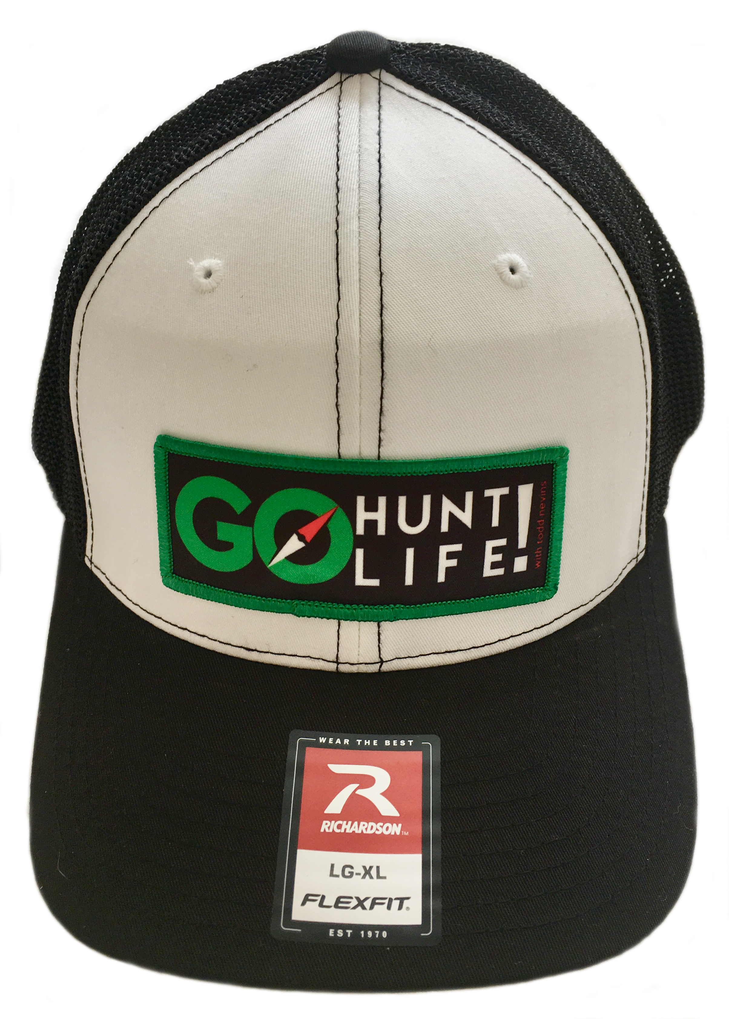Go Hunt Life trucker hat.
