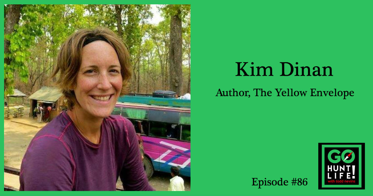 Ep86 A Life-Changing Journey Around the World Reshaped by a Yellow Envelope – Kim Dinan 🌎