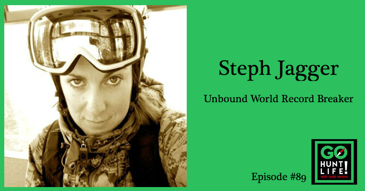 Ep89 Raised Her Restraining Device, Broke a World Record and Cracked Open Her Life – Steph Jagger ⛷ 🗻