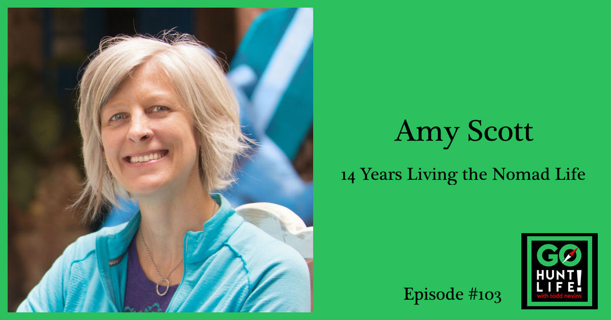 Ep103 Started Her Digital Nomad Life With $12K. This Expert Shares Her Secrets to a Life of Freedom – Amy Scott 🌎